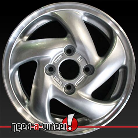 1994 1997 honda accord wheels sparkle silver rims 63803
