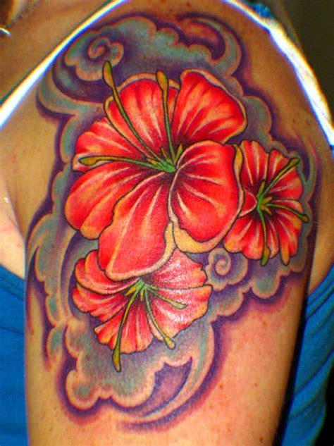 hibiscus tattoo images designs
