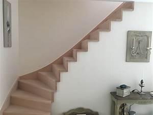 Marche Bois Escalier : escalier vernis lasure vitrificateur quelles finitions debret escaliers ~ Voncanada.com Idées de Décoration