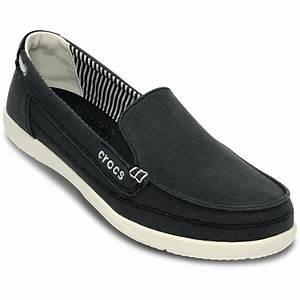 Crocs - Women Walu Canvas Loafer Women Shoes