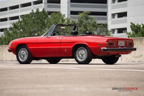 1971 Alfa Romeo by 1971 Alfa Romeo Spider Driversource Motorcars