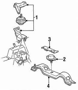 Ford Thunderbird Transmission Mount Support  3 8 Liter  W