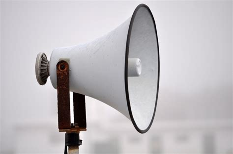 imagen de megafono foto gratis