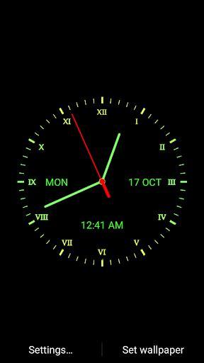 Digital Clock Clock Live Wallpaper Mobile9 by Analog Clock Live Wallpaper Play Softwares