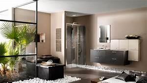 deco salle de bain zen bois With salle de bain bois zen
