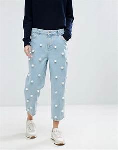 Jeans Mit Strass Und Perlen : asos white asos white jeans mit perlen ~ Frokenaadalensverden.com Haus und Dekorationen