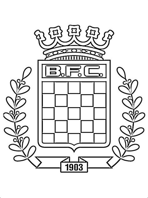 boavista fc logo coloring page coloring pages