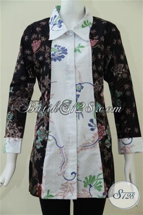 baju batik wanita desain terkini berpadu  kombinasi