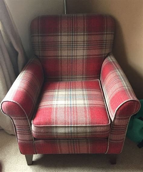 Next Armchair Sale by Beautiful Next Tartan Armchair In Bridgend Gumtree
