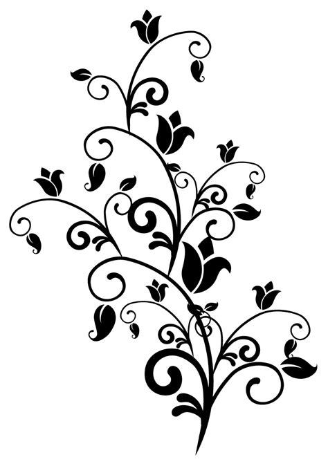 Contoh Gambar Ornamen Bunga Dawn Hullender
