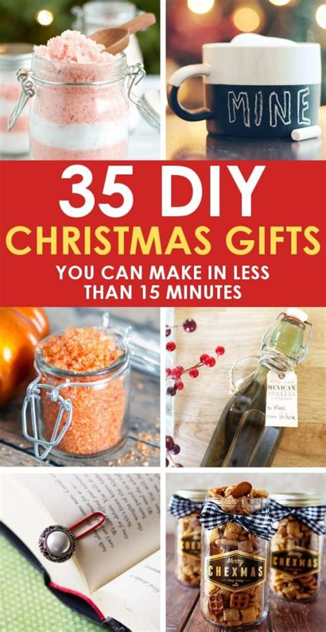 easy diy christmas gifts   minutes
