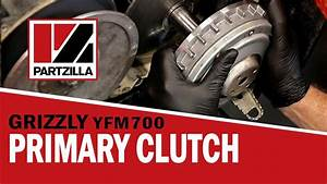 Yamaha Grizzly Yfm700 Clutch Rebuild