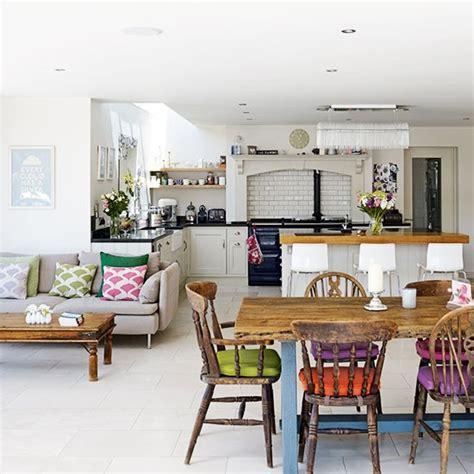 open plan family kitchen diner family kitchen design
