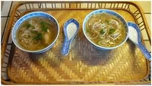 cuisiner du soja soupe chinoise aux germes de soja recette iterroir