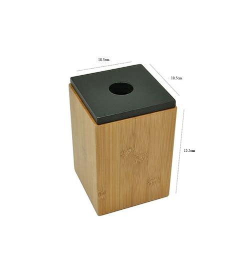 bo 238 te de rangement salle de bain bambou couvercle noir