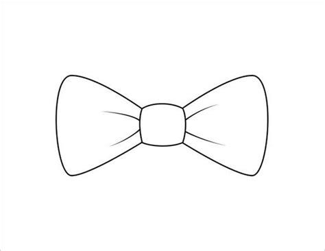 printable bow tie templates    premium