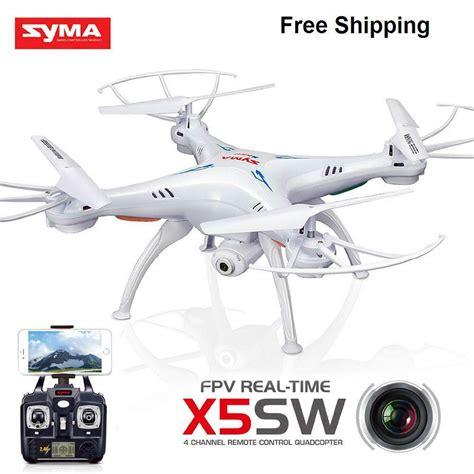 syma xc xc  xsw ghz rc quadcopter drone mp wifi fpv camera  battery ebay