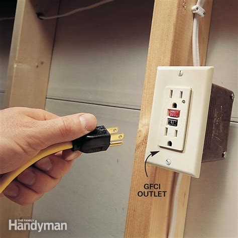 install gfci outlets  family handyman
