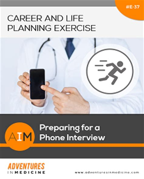 preparing for a phone preparing for a phone physician career planning