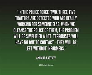 Inspirational Q... Police Officer Quotes