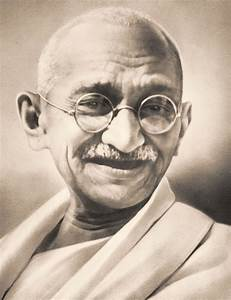 Almost But Not Quite: Today, I Thought About Gandhi