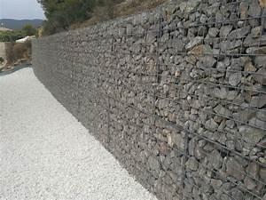 Mur De Soutenement En Gabion : gabions pierre concept ~ Melissatoandfro.com Idées de Décoration