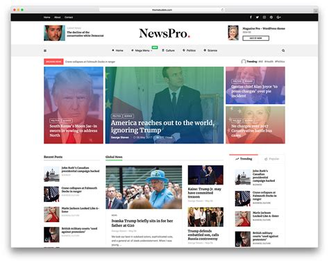 Best News Website 20 Best Newspaper Themes For News 2018