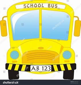 Illustration School Bus Cartoon Stock Vector 59437207 ...