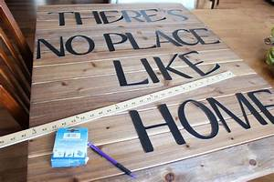 diy sign archives diy show off tm diy decorating and With stick on letters for outdoor signs
