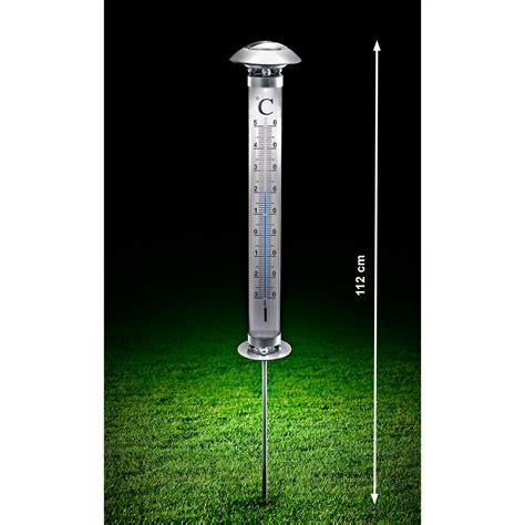 Solargartenthermometer  3 Jahre Garantie Proidee
