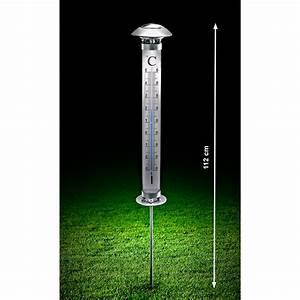 Pro Idee Garten : solar garten ther mometer 3 jahre garantie pro idee ~ Watch28wear.com Haus und Dekorationen