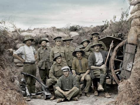 world war 1 in color ww1 in colour david doughty australian stories