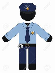 Police Officer Uniform Clipart | www.imgkid.com - The ...