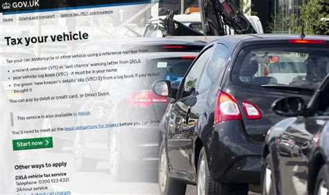 dvla car tax increase       cost