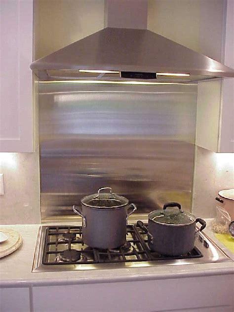 aluminum backsplash kitchen metal backsplashes best kitchen places