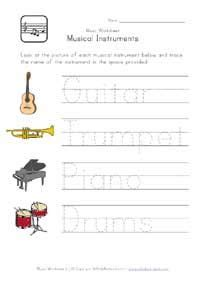 1000 images about pre k music themed crafts on pinterest instruments coloring pages and