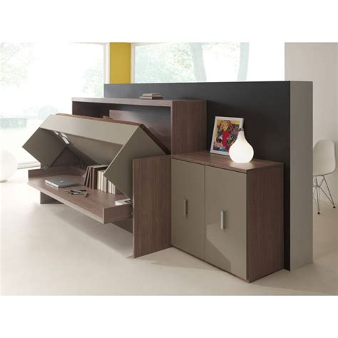 bureau lit rabattable commode laque office