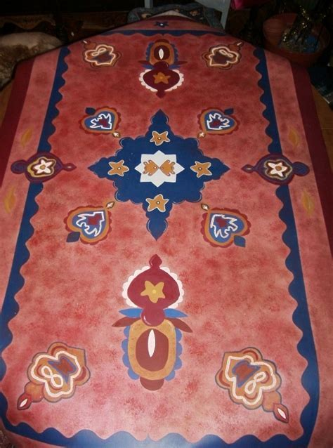 17 Best images about Painted Floor Cloths on Pinterest