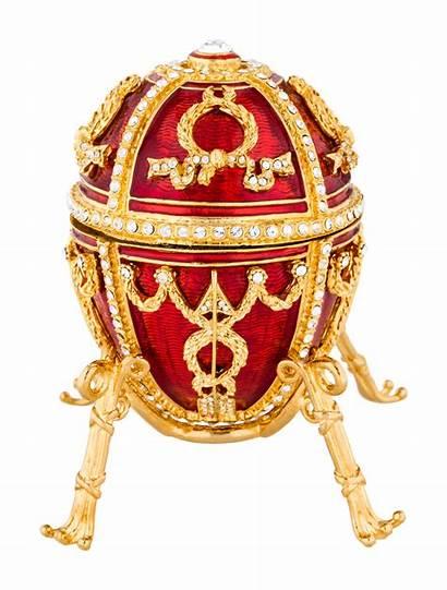 Egg Box Imperial Rosebud Faberge Gold Faberge