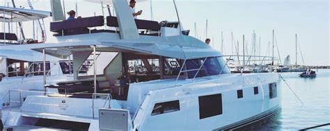 nautitech  powercat  sale ensign yacht brokers