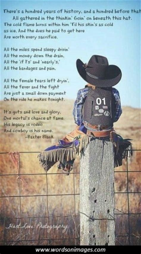 inspirational rodeo quotes  sayings quotesgram