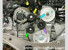 Porsche Boxster Idler Belt Pulley Replacement 986 987