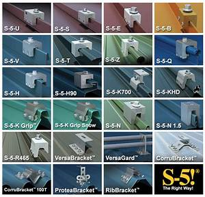 S-5  Clamps For Metal Roof Solar Installations