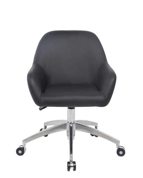 chaises de bureau design capa chaise de bureau design piétement alu poli kayelles com