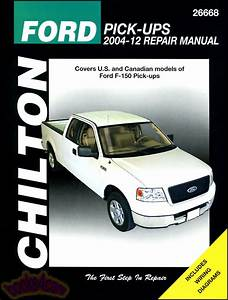 Shop Manual Service Repair Chilton Book Ford F150 Pickup
