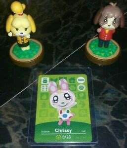 People also love these ideas. Authentic #300 Chrissy - Animal Crossing Amiibo Card S3 - US Seller - Tracking   eBay