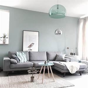 wohnzimmer in grau beige gebrochenem türkis wohnung in