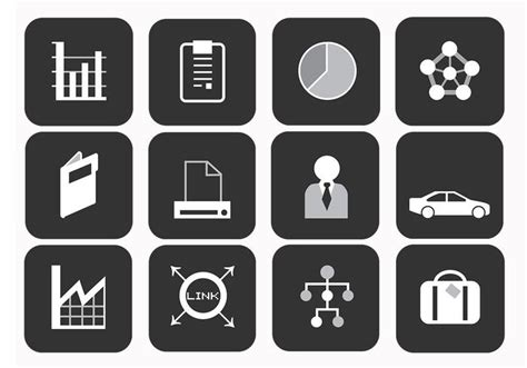 Business Vector Icons Pack Business Cards Same Day 90mm X 50mm Plan Vs Project Legal Structure 85 54 Template Letter Makanan Unik Zelf Maken