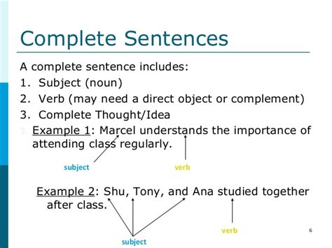 Phrases, Clauses, Sentence Structure