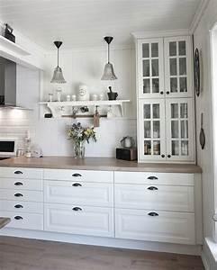 Ikea kitchen behindabluedoor behindabluedoor kitchen for Küchenvitrine ikea